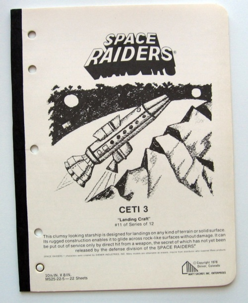 Space Raiders 1978