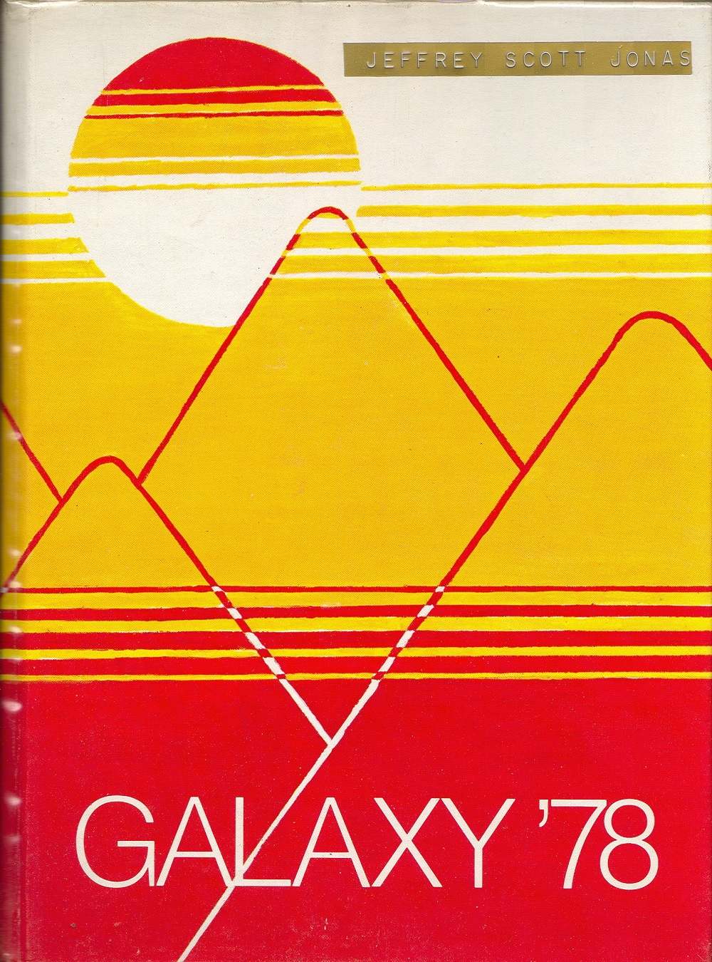 high school yearbook covers 1978 1979 part one 2 warps to neptune