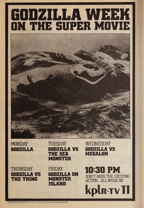 Godzilla 2-24 3-2 1979