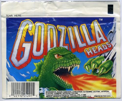 Godzilla Heads 1988-2