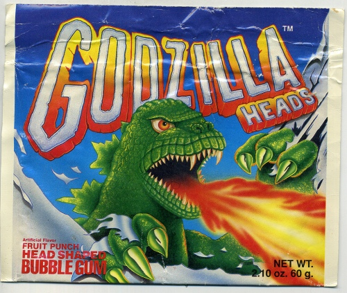 Godzilla Heads 1988