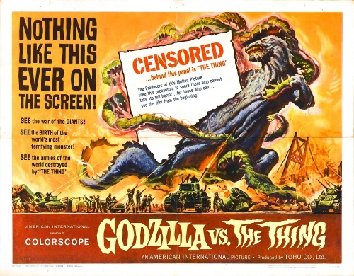 Godzilla vs. The Thing 1964