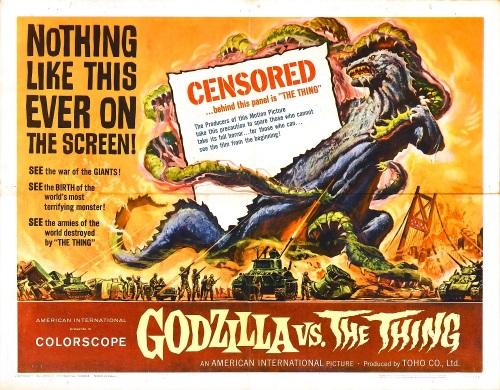 Godzilla vs. The Thing 1964