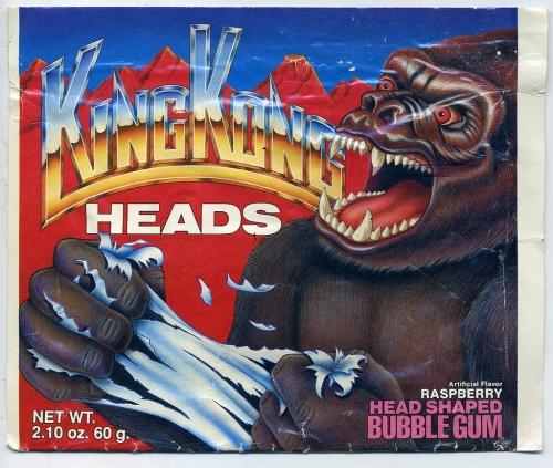 King Kong Heads 1988