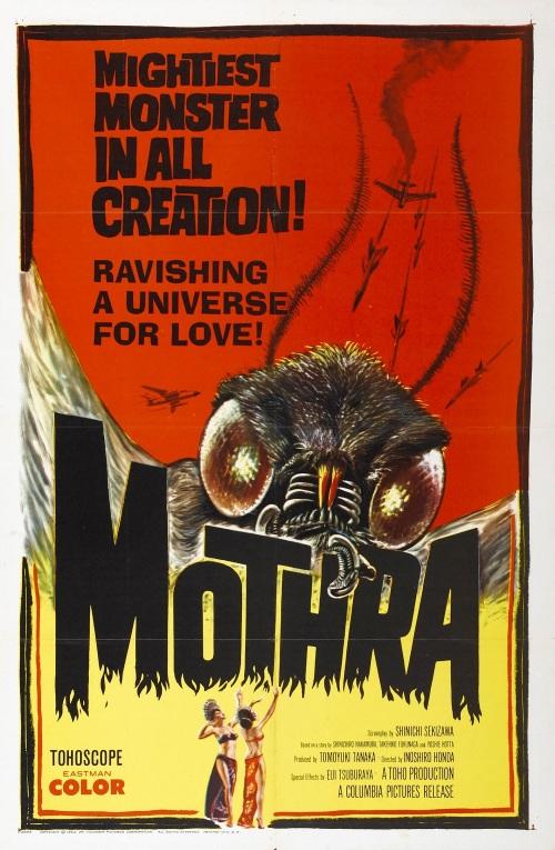 Mothra Poster 1961