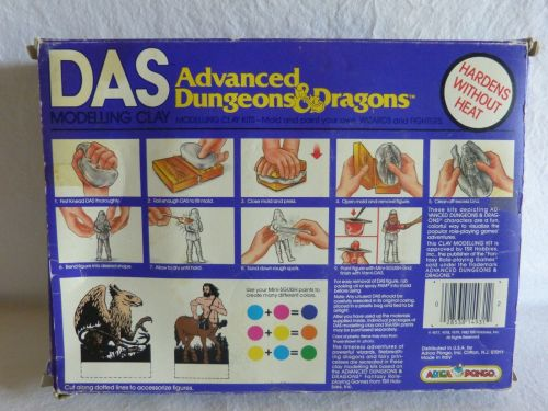 AD&D Modelling 1982-2