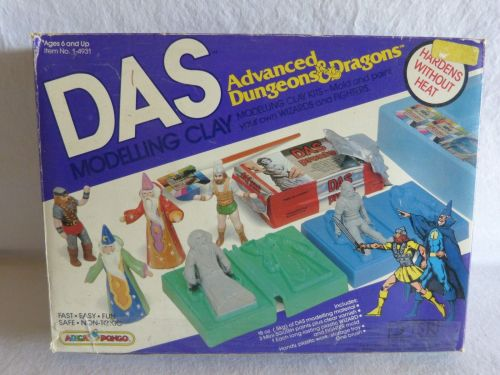 AD&D Modelling 1982