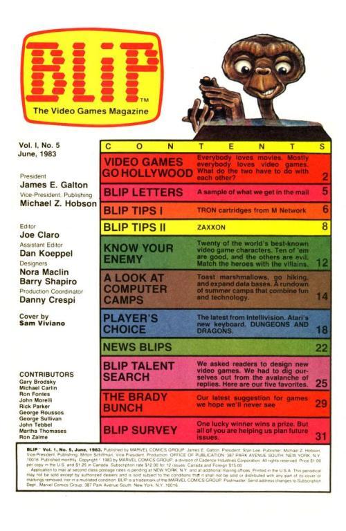 Blip #5 1983-8