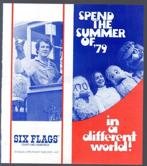 Six Flags 1979