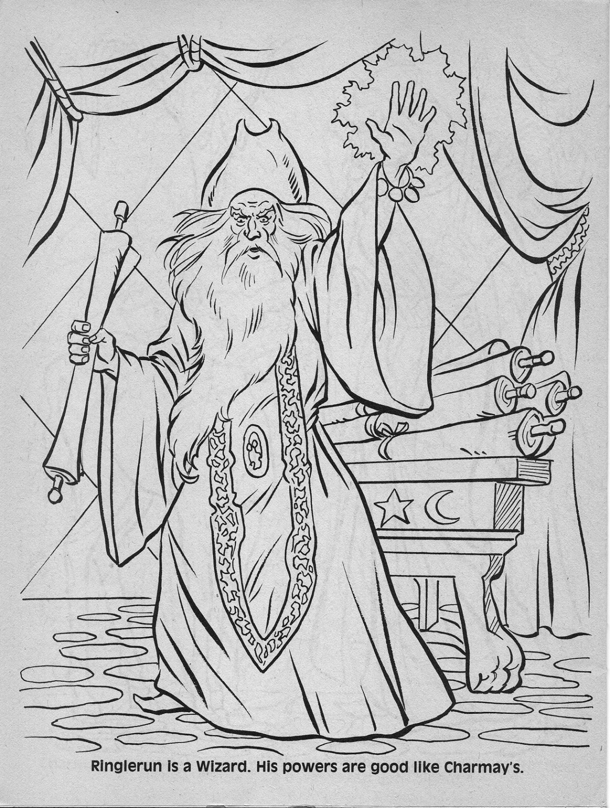 dungeons and dragons coloring pages - photo#26