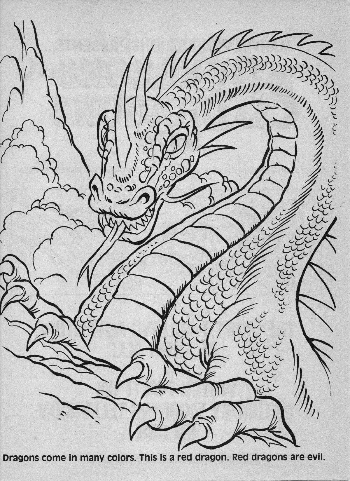 dungeons and dragons coloring pages - photo#34