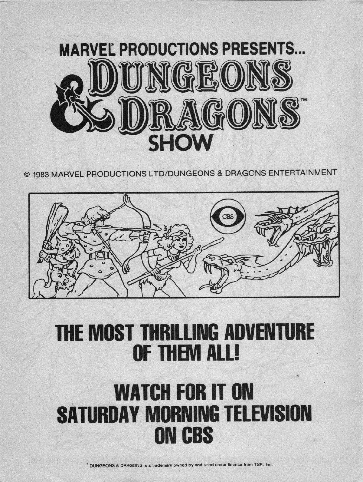 advanced dungeons  u0026 dragons characters coloring book  1983