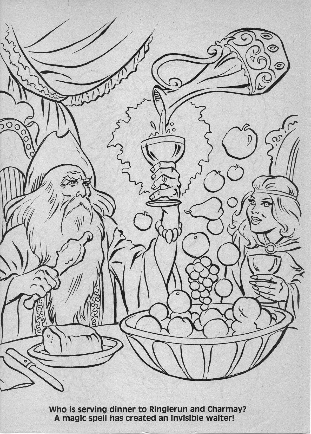 dungeons and dragons coloring pages - photo#36