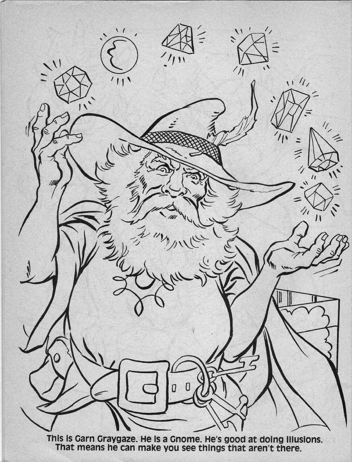 dungeons and dragons coloring pages - photo #38