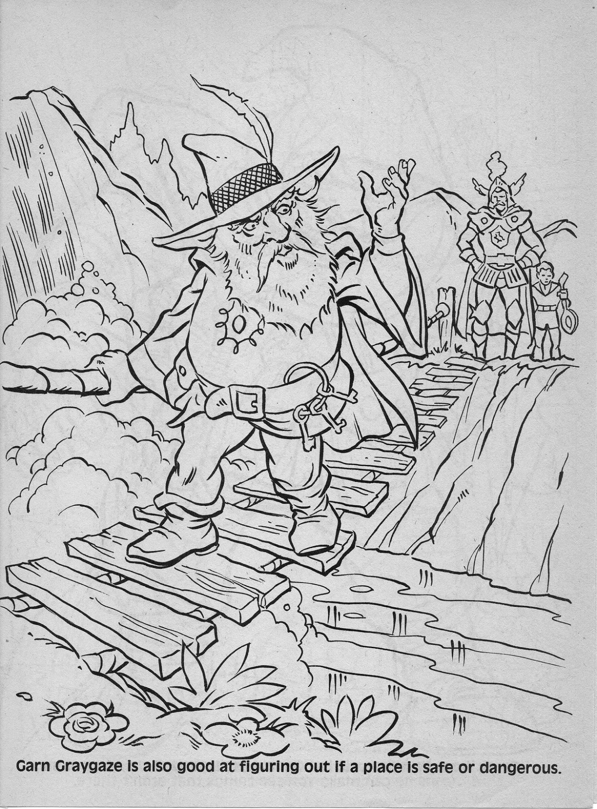 dungeons and dragons coloring pages - photo#44