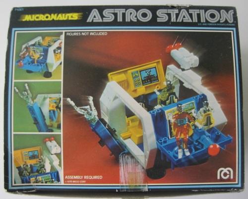 Micronauts Astro Station