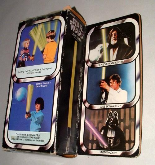 SW Lightsaber 1977-2