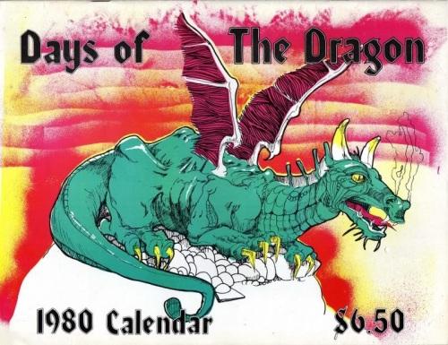 Days Calendar 1980