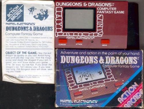 D&D Mattel 1981-2