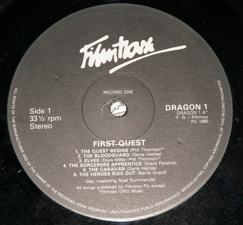 First Quest 1985-10