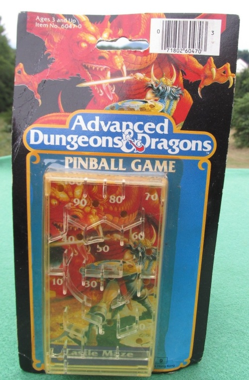 AD&D Pinball Castle 1983