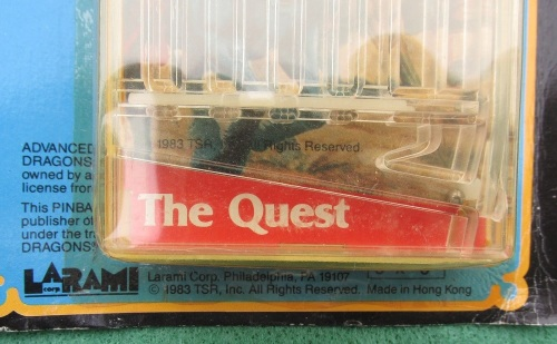 AD&D Pinball Quest 1983-2