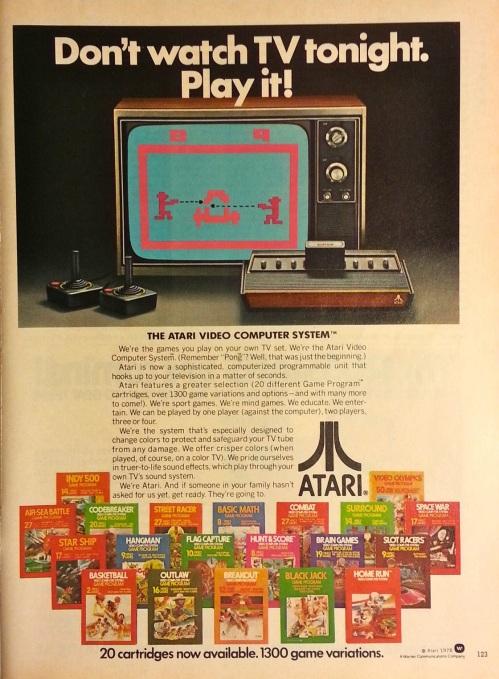 Atari Ad 1978-2
