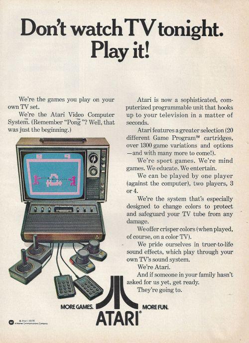 Atari Ad 1978