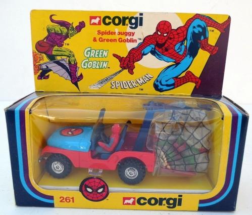 Corgi Spidey 1979-2