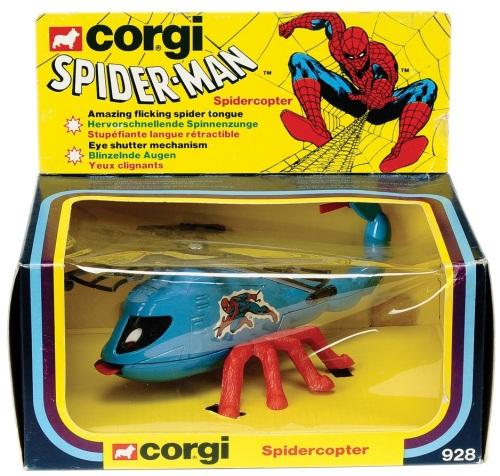 Corgi Spidey 1979-3