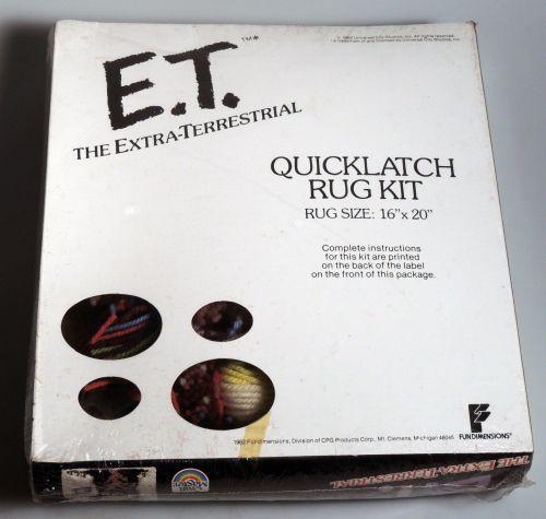 E.T. Rug 1982-2