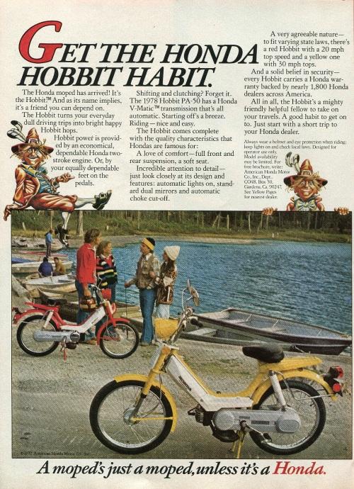 Honda Hobbit Ad 1978