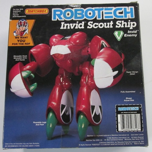 Robotech Invid 1985-2