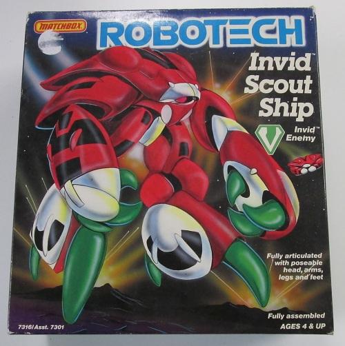 Robotech Invid 1985
