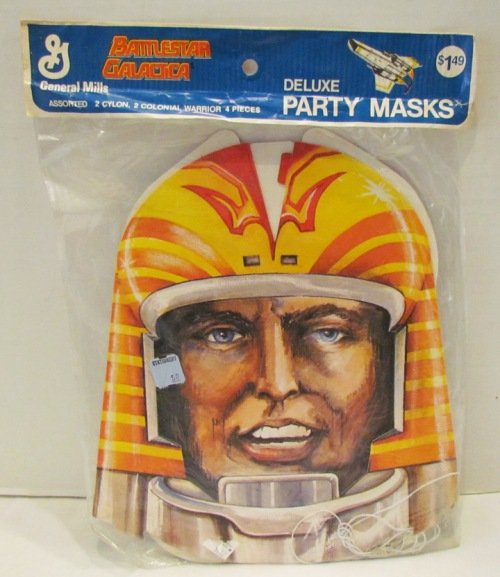 BSG Party Masks 1978