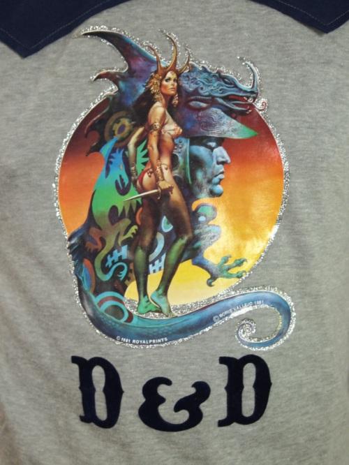 D&D Shirt 1981-2