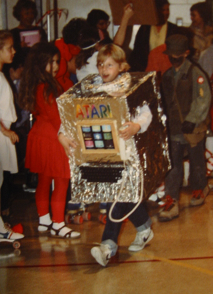 halloween 1983 homemade atari computer costume 2 warps to neptune