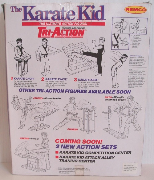 Karate Kid Remco 1986-2
