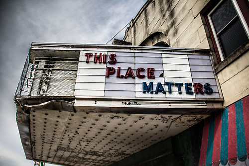 Marquee Hanover Theater Penn
