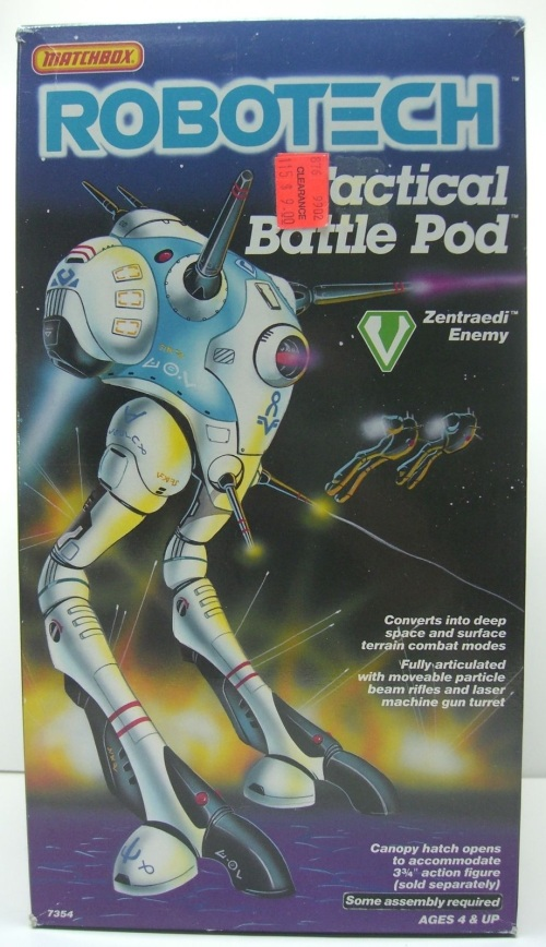 Robotech Battle Pod 1985-1