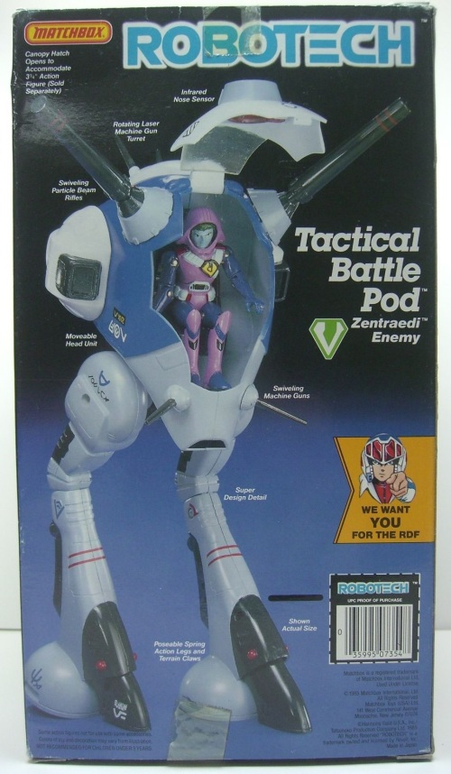 Robotech Battle Pod 1985-2