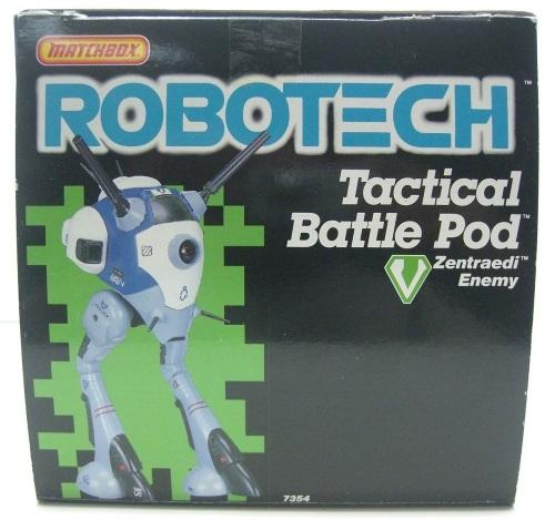 Robotech Battle Pod 1985-3