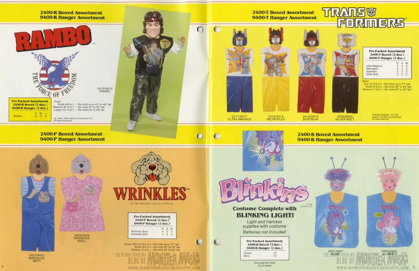 1987_CollegevilleCostumes_Catalog_04-05 & Transformers | 2 Warps to Neptune