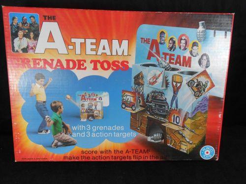 A-Team Grenade Toss 1983