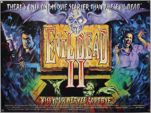 Evil Dead 2 Quad 1987