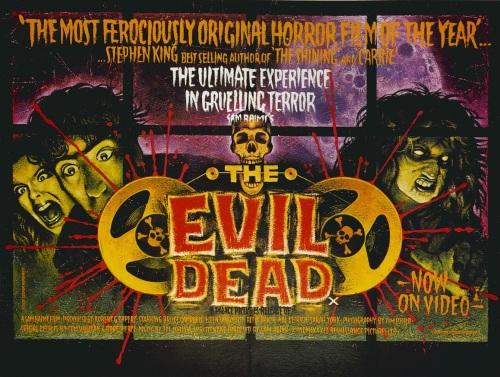 Evil Dead Quad 1983