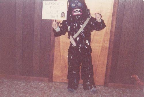 Halloween Chewie 1977