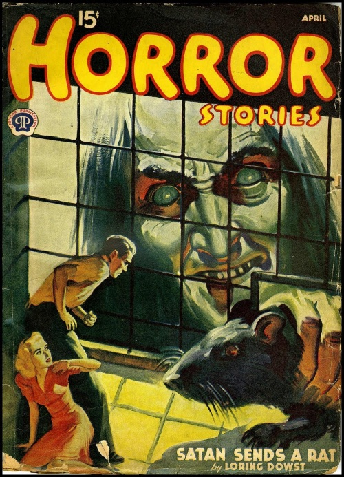 Horror Stories April 1941
