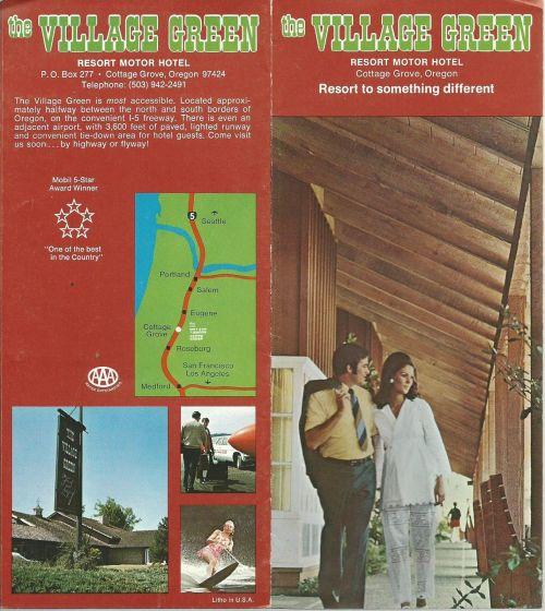 Hotel Brochure 1973-1