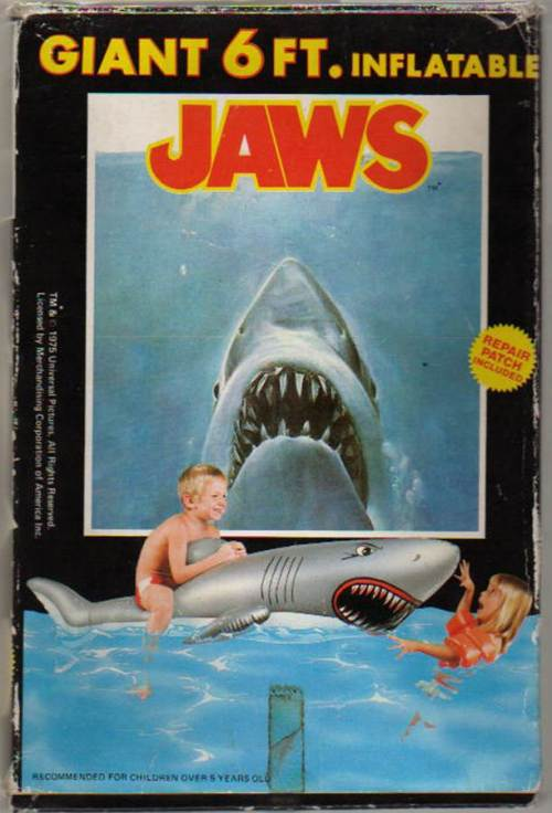 Jaws Inflatable 1975